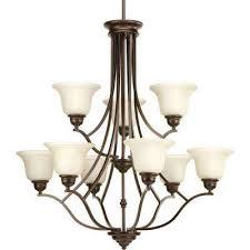 spirit collection 9 light antique bronze chandelier