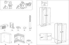 Ikea Pax Wardrobe Frame Assembly