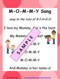 mother s day songs and rhymes for circle time montessori  here s a mothers day preschool theme over 30 preschool lesson plans for your classroom