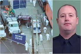 nypd cop shot and killed responding to home invasion new york post