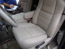 again this is the oem seat top with a new leather replacement cover from the seat our covers do not slip on over the seat covers