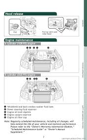 TOYOTA 4RUNNER 2009 N280 / 5.G Quick Reference Guide