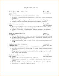10 1st Year College Student Resume Skills Based Resume