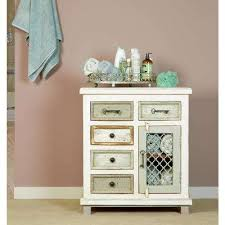 Rustic white furniture Bed Larose Rustic White Spacesappco Rustic Cabinet Furniture The Home Depot