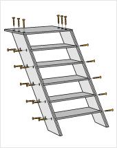 Die treppen zeichnen sich durch ihre hohe flexibilität aus. Bildergebnis Fur Balkon Treppe Holz Selber Bauen Treppe Treppe Bauen Anbau Haus