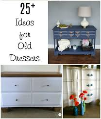 ideas for old furniture. Repurposed Furniture Old Dresser Ideas And Makeovers - My Life® For F