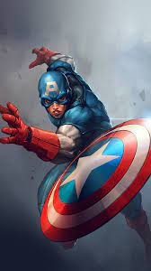 16+ Wallpaper 3d Captain America ...