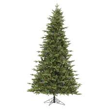 7.5ft Pre-Lit LED Artificial Christmas Tree Full Balsam Fir - Clear Lights : Target