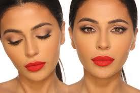 clic red lip tutorial