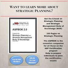 strategic planning frameworks body of knowledge bok and related documents association for