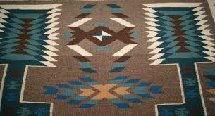 blue navajo rugs. Contemporary Navajo 387contemporarystormpatternnavajorugweaving003largejpg Inside Blue Navajo Rugs J