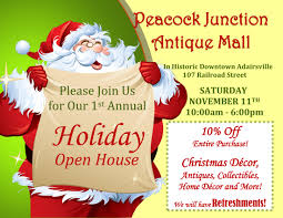christmas open house flyer holiday open house cartersville bartow county convention