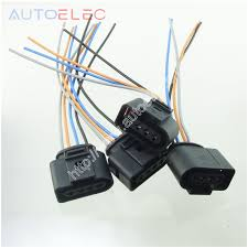compare prices on vw coil wiring online shopping buy low price vw Vw Wiring Harness Kits 2pcs ignition coil 4pin 1j0973724 connector repair kit 1j0 973 724 for a4 a6 rs4 rs6 vw 1971 super beetle wiring harness kits