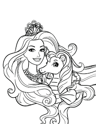 The princes barbie and ken. Barbie Princess Coloring Pages Best Coloring Pages For Kids