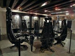 gothic dining room
