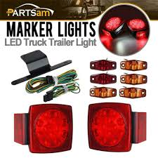 Autozone Trailer Lights Round Led Trailer Lights Light Kit Autozone Rectangular Side