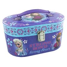 disney frozen bedroom in a box. disney frozen oval train carry case - vanity jewellery box girls bedroom accessory gift in a e