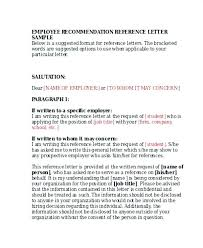 Peer Recommendation Letter Template Admirably Reference Example