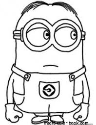 Small Picture Minion coloring pages printable online free