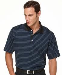 Callaway Polo Shirt Anthracite Stripe