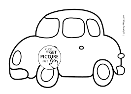 Small Picture Car Transportation Coloring Pages For Kids Printable Free With Car