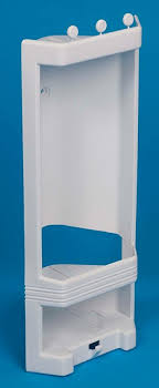 Plastic Corner Shower Shelves White Plastic Corner Shower Caddy Shelf Brand New Amazoncouk 11