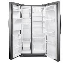gallery cu ft side by side refrigerator stainless gallery 26 cu ft side by side refrigerator stainless steel fgus2645lf