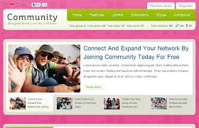 Microsoft Web Page Templates Community Website Design Templates Community Association Website