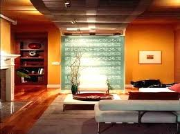 warm colours for living room walls