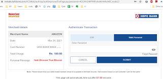 Hdfc credit card online number. How To Keep A Static Password On Hdfc Credit Card Or Debit Card To Use Hdfc Cards Without Otp Techaccent