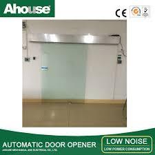 miraculous automatic sliding glass door ahouse automatic sliding glass door microwave door opener sensor