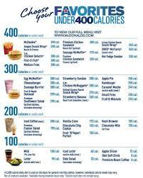 Mcdonalds Calorie Chart Grubgrademcdonalds Favorites Under 400 Grubgrade