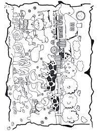 De Kinderboerderij Kleurplaat Dieren