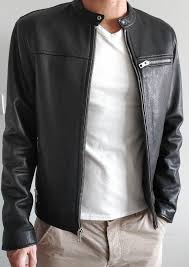 leather jacket men coach new york new s m