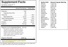 22 days protein bar nutrition facts