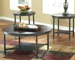 signature design by ashley exeter 3 piece coffee table set glass for furniture round dining room kitchen cool tabl