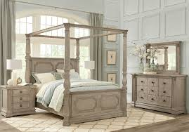 King canopy bedroom sets Aico Rooms To Go Havencrest Gray Pc King Canopy Bedroom King Bedroom Sets Colors