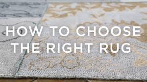 how to choose the right rug a guide from west elm