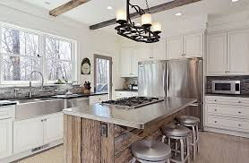 Interesting Modern Rustic Kitchen Island Table Designs A