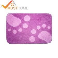 purple bath rugs purple bath mat cartoon big feet non slip bathroom rugs free purple