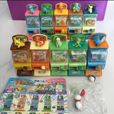 Pokemon Vending Machine Toys Awesome Pokemon Characters 48st Series Miniature Vending Machines Gacha