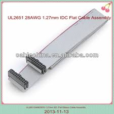 20 pin ribbon cable supplier 2 54mm idc flat wire harness cable 20 pin ribbon cable supplier 2 54mm idc flat wire harness cable assembly 1 27