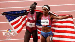 Athing Mu, 19, wins first USA 800m gold ...