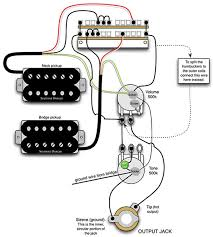 guitar wiring diagram humbucker guitar wiring diagrams online
