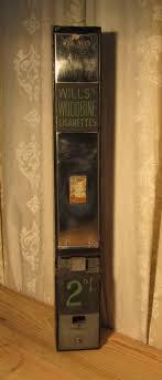 Individual Cigarette Vending Machine Inspiration Vintage Art Deco Chrome Iron Cigarette Vending Machine Woodbine