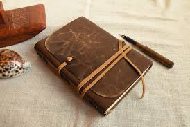 personalized leather journal monogrammed leather journal genuine leather journal