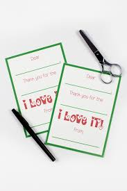Free Printable Thank You Postcards Printable Christmas Thank You Cards