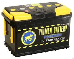 <b>Аккумулятор легковой Tyumen Battery</b> Standard 75 а/ч 660А ...