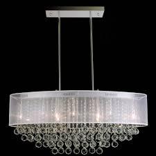 brizzo lighting s 36 organza contemporary oval