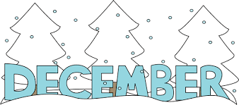 Free Month Clip Art Month Of December Snow Clip Art Image The